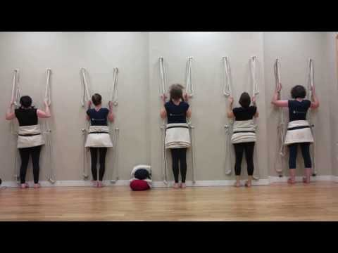 Iyengar Yoga Demo : IYOGA Studios Dublin ~ Open Studio 30 January 2014