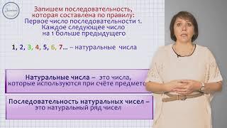 Математика 3 класс. Натуральный ряд и другие числовые последовательности
