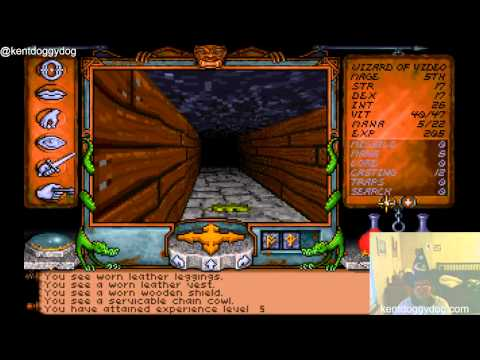 I am The Wizard of Video Games, and I bring you diet orange soda and Ultima Underworld part 5