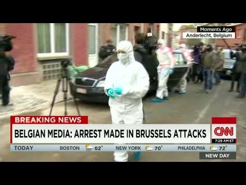 Belgian media: Brussels suspect arrested