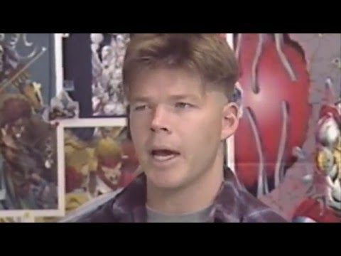 Young Rob Liefeld Reveals His Methods (Hero TV)
