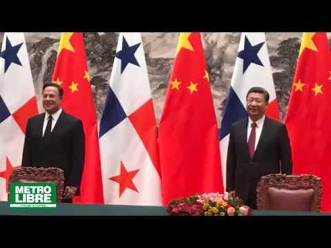 Recepción a Juan Carlos Varela por parte de Xi Jinping