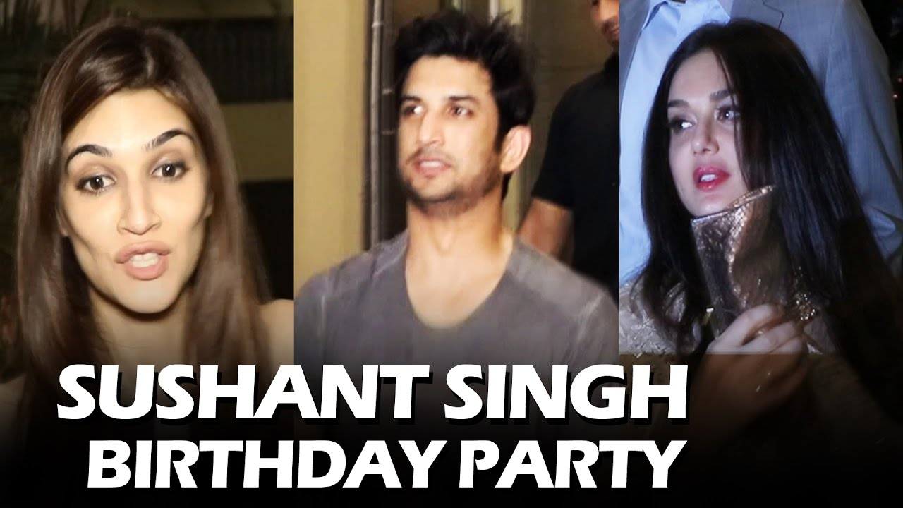 Sushant Singh Rajputs Grand Birthday Party 2017 Full Hd Video