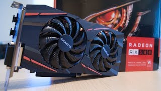 Gigabyte RX580 gaming 8GB unboxing and testing in few games