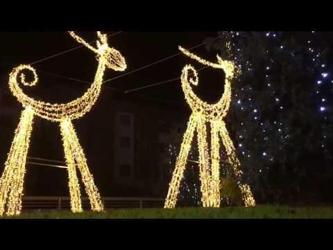 Il Villaggio Di Natale Flover - Verona - YouTube
