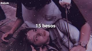 15 besos - Cornelio Vega (letra)