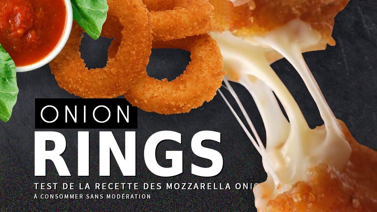 crash test onion rings recette mozzarella youtube. Black Bedroom Furniture Sets. Home Design Ideas