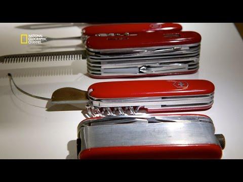 Les modèles rejetés du couteau suisse