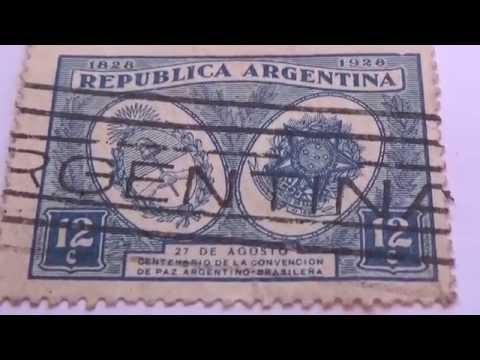 My Good old Argentina Vintage Postage Stamps