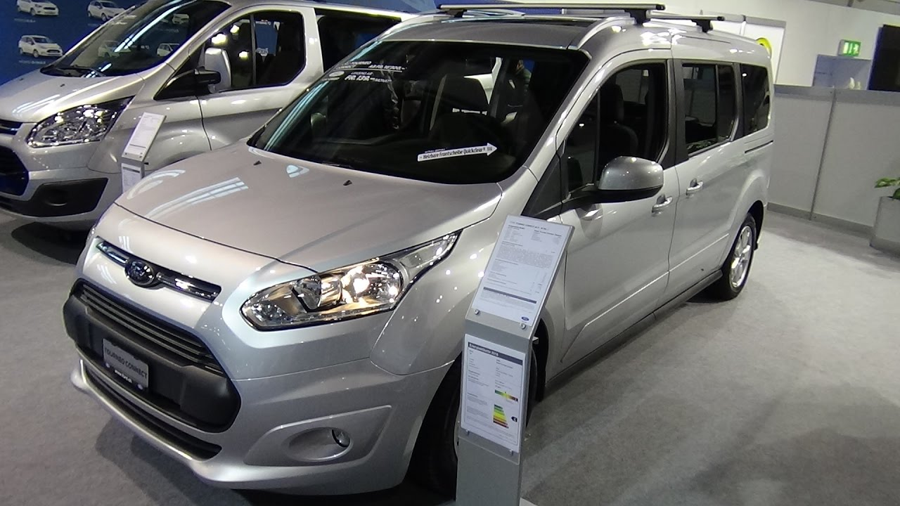 2017 Ford Grand Tourneo Connect Titanium - Exterior and Interior - Zürich Car Show 2016 - YouTube