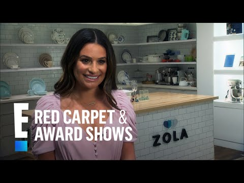 """Lea Michele Says Her Wedding Dress Is """"Classic"""" 