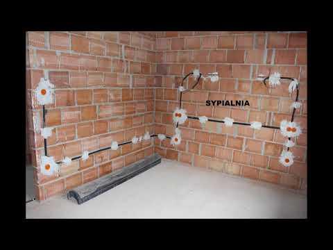 Budowa Domu KROK PO KROKU Etap 9: Instalacja Elektryczna I Hydrauliczna
