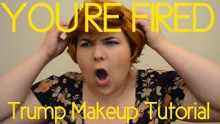Donald Trump-inspired Makeup Tutorial (with Cosmopolitan.com!) thumbnail