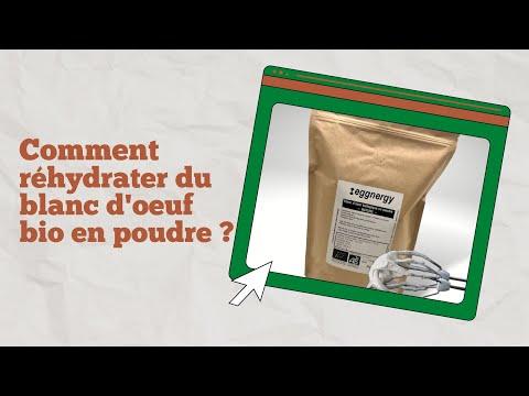 Eggnergy Protéine de blanc d'oeuf bio