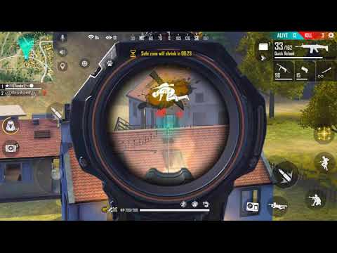 MAUT SEY BHAGO PLAYING WITH ME IN FREE FIRE LIVE