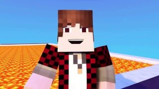 Minecraft Animation - FUNNIEST MOMENTS Lava Race (Animated Short)