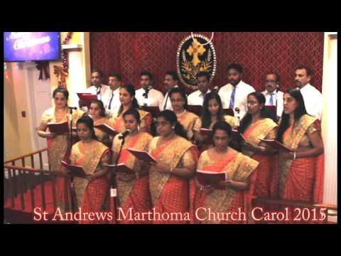St Andrews Marthoma church Yonkers New York christmas Carol 2015