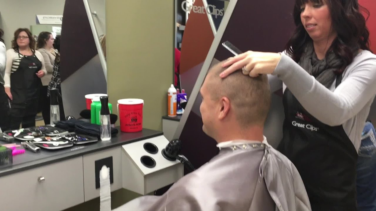Greenwood Hair Salon Trying To Break Record For Good Cause Youtube