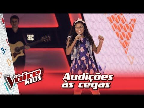 Ana Vitória Canta 'Casinha Branca' Na Audição – 'The Voice Kids Brasil'   3ª Temporada