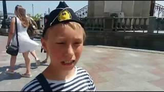 Крым ПРОГУЛКА ПО ЯЛТЕ впечатления киевлян