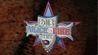 Police vs. Fire Hockey Game Promotion 2013