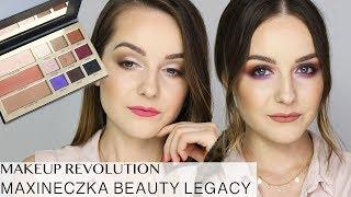 MAKEUP REVOLUTION MAXINECZKA BEAUTY LEGACY MAKIJAŻ DZIENNY I WIECZOROWY | Milena Makeup