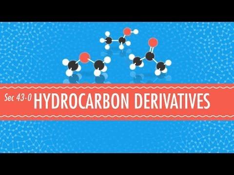 Hydrocarbon Derivatives - Crash Course Chemistry #43