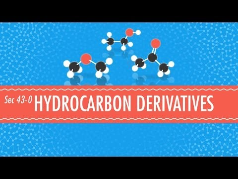 hydrocarbon-derivatives:-crash-course-chemistry-#43