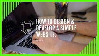 Implement a website from scratch | Part 4 of How to design a website