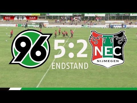 Re-live: Hannover 96 - NEC Nijmegen | 5:2 | Testspiel