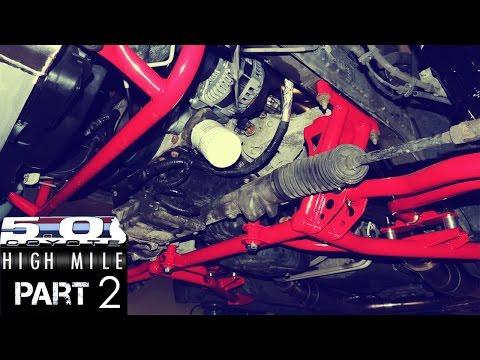 High Mile Coyote Mustang Episode 2: BMR Suspension, Strange Engineering Shocks&Struts, Kooks Exhaust