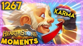 BM Karma At It's FINEST!!   Hearthstone Daily Moments Ep.1267