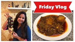 A Friday day Vlog || Bengali Mutton Kosha || Souvenirs from Switzerland