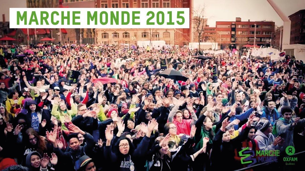Marche Monde Oxfam-Québec - Montréal