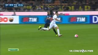 Интер   Фиорентина 1 4  Италия  Серия А 2015 2016  6 тур  Обзор матча