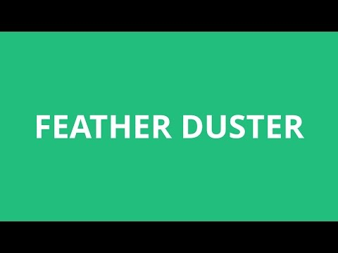 How To Pronounce Feather Duster - Pronunciation Academy