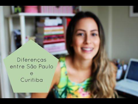 Diferenças entre Curitiba e São Paulo
