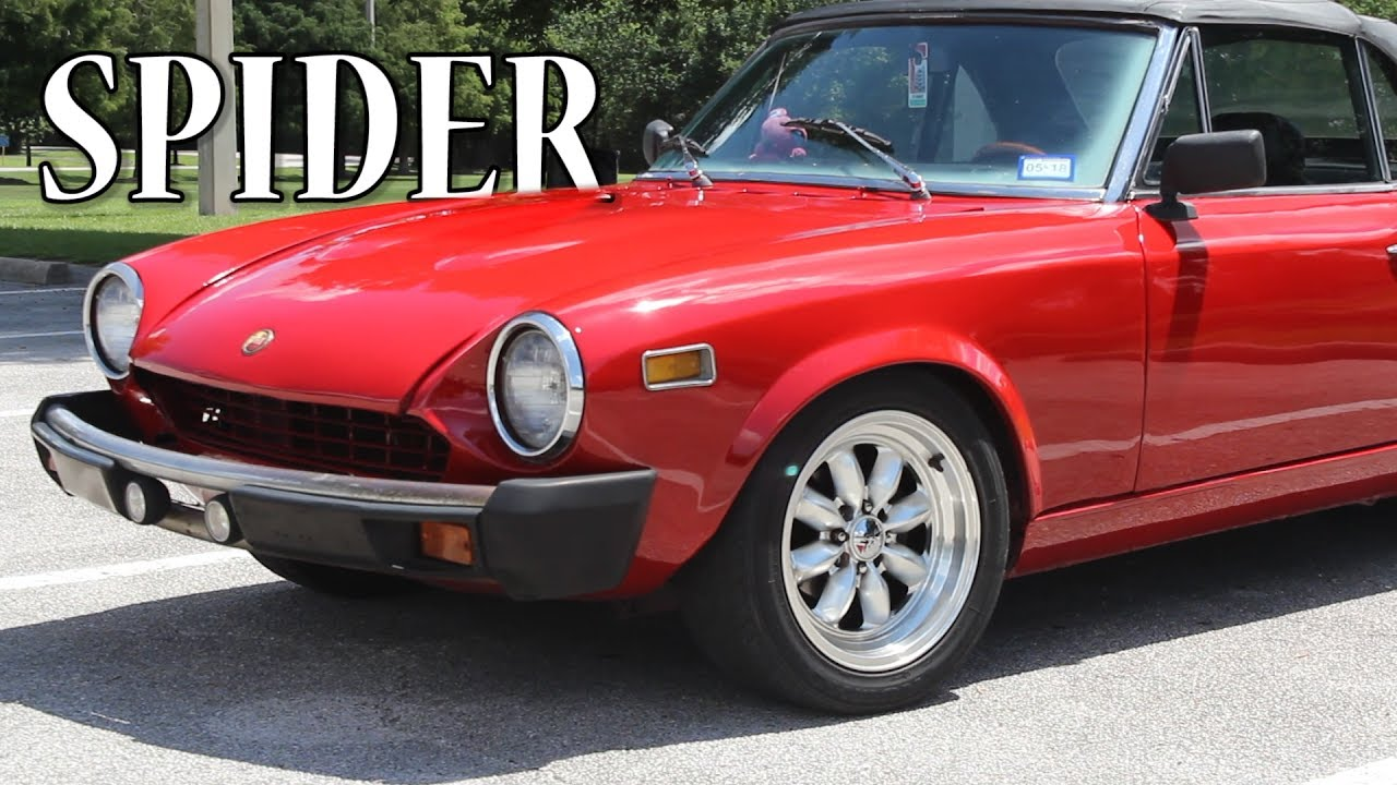1977 fiat 124 spider review class fun youtube. Black Bedroom Furniture Sets. Home Design Ideas