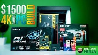 $1500 Computer Build 4k ULTRA Setting GAMING + Benchmarks!