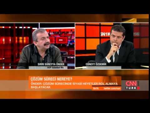 Sırrı Süreyya Önder Cüneyt Özdemir'in sunduğu  5N1K programına konuk oldu. 5N1K: 2.6.2014