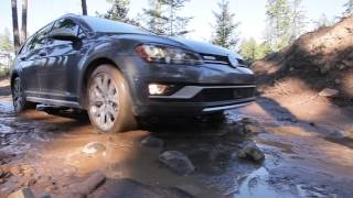 Off-road wagon? Watch the new Volkswagen Alltrack's Off-road Capabilities