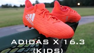 adidas kids x 16 3 review on feet thoughts