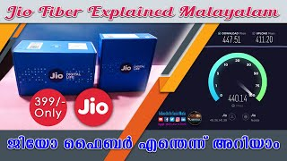 Jio Fiber Malayalam || Hardware and Installation