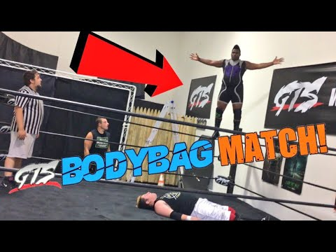 BIGGEST 450 SPLASH EVER! GTS WRESTLING BODYBAG MATCH GONE WRONG! ROH STAR TAG MATCH!