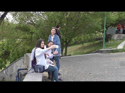 Yerevan, 12.04.18, Th, Video-1, Dzoraghbyur, Amerikyan hamalsaran.