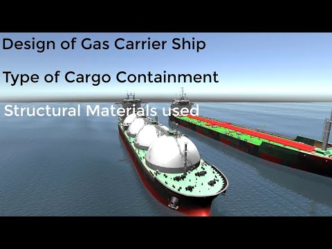 Gas Carrier Ship - Introduction to LPG, LNG & Chemical Gases Carriage, Transport & Handling
