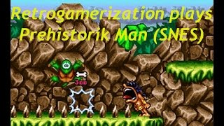 prehistorik man (SNES) gameplay