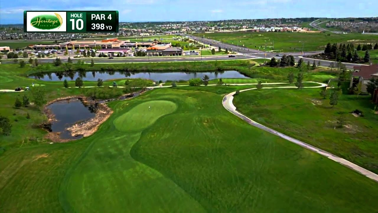 Scorecard & Hole By Hole Aerials at Heritage Eagle Bend Golf