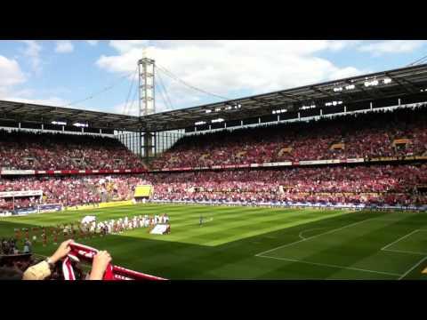1.FC Köln Hymne (live + HD)
