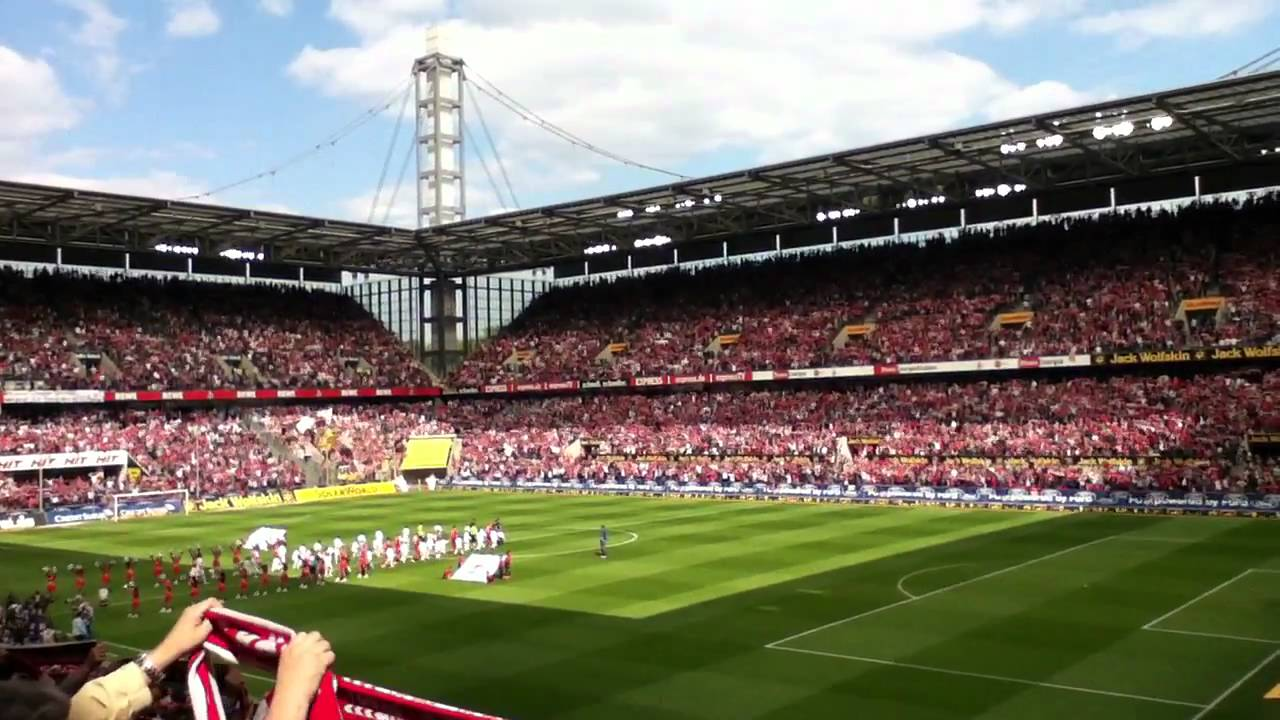 1.FC Köln Hymne (live + HD) - YouTube